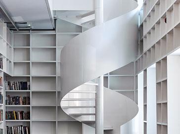 Schody spiralne Atrium Bianco