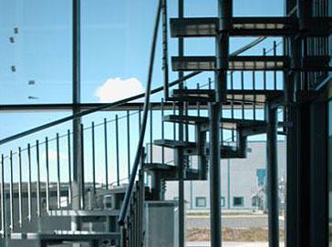 Schody przemysłowe Atrium Linero