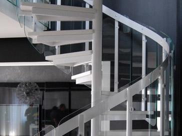 Schody spiralne Atrium System Glasso